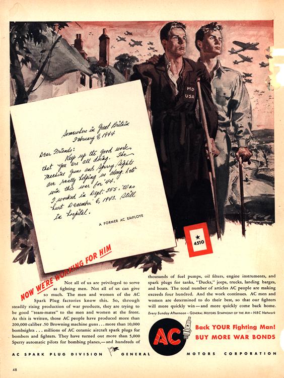 AC Spark Plugs 1945 0001