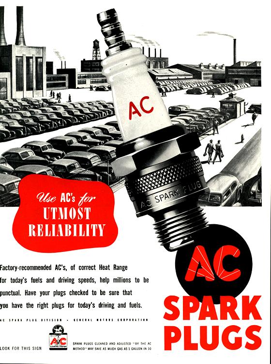 AC Spark Plugs 1947 0001