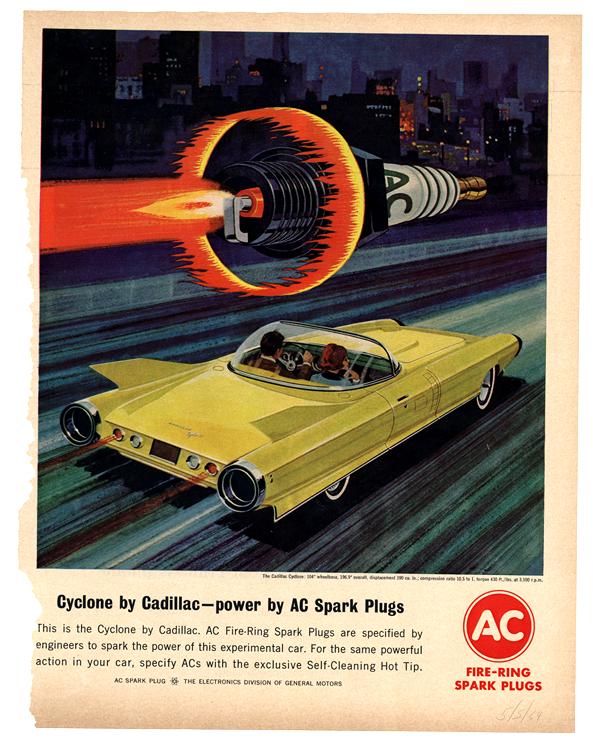 AC Spark Plugs 1964 Cadillac 0034