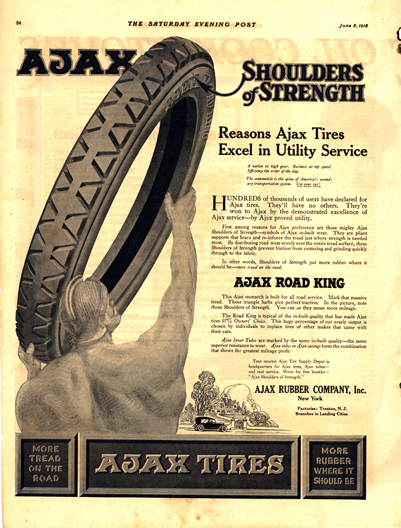 Ajax Tires 1918 0001
