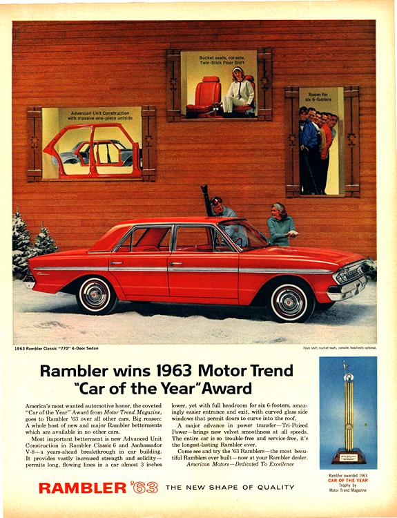 American Motors Rambler 1963 0003n