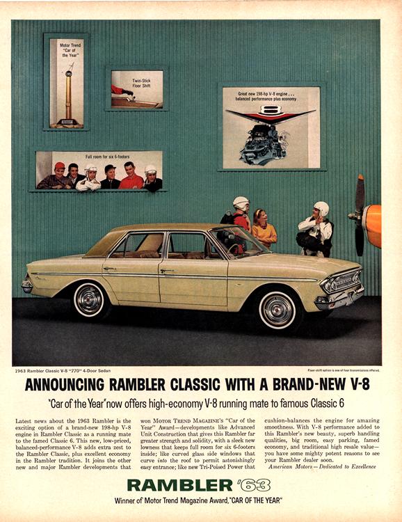 American Motors Rambler 1963 0006n