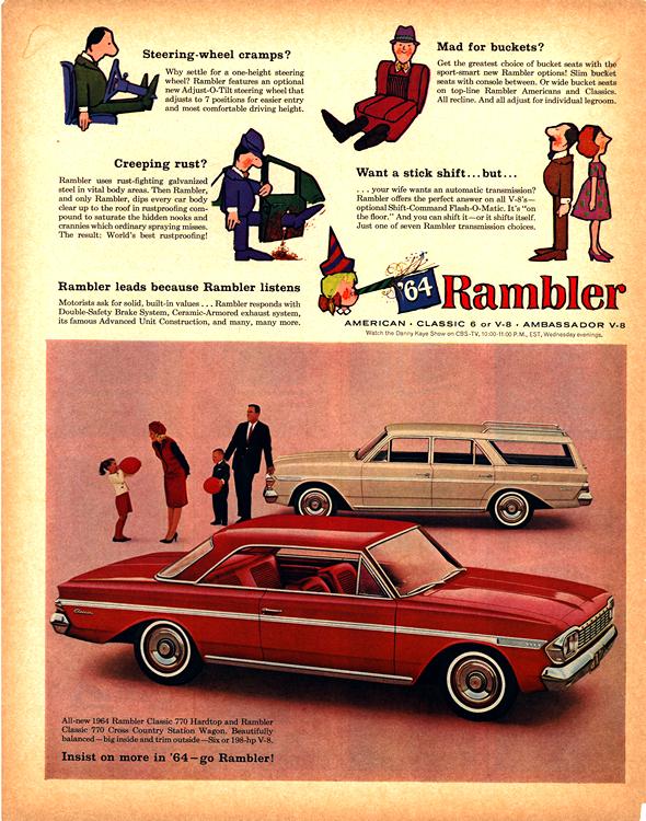 American Motors Rambler 1964 0001n
