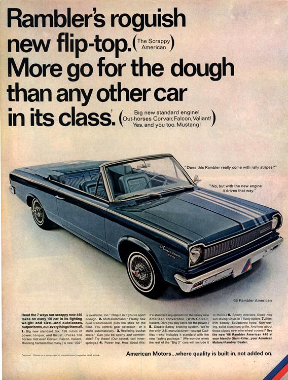 American Motors Rambler 1966 0001n