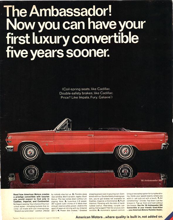 American Motors Rambler 1966 0004n