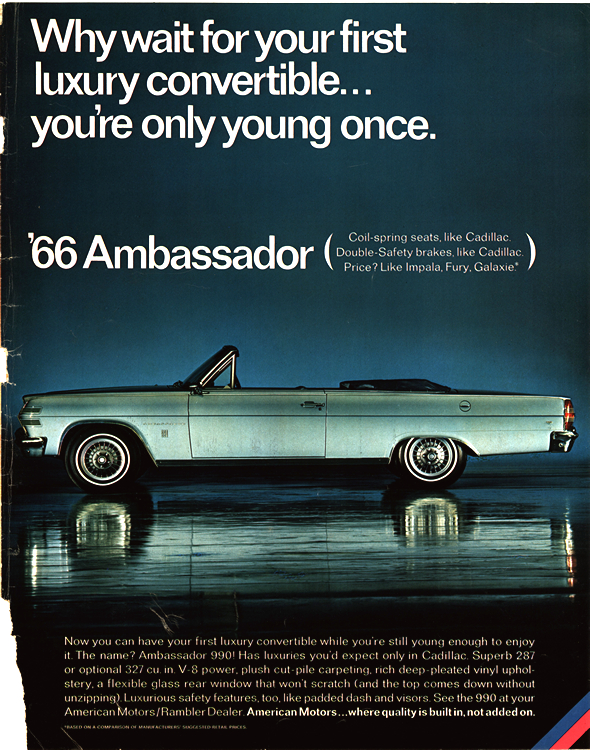 American Motors Rambler 1966 0005n