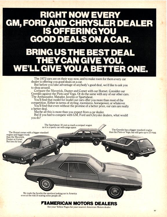 American Motors Rambler 1972 0001n