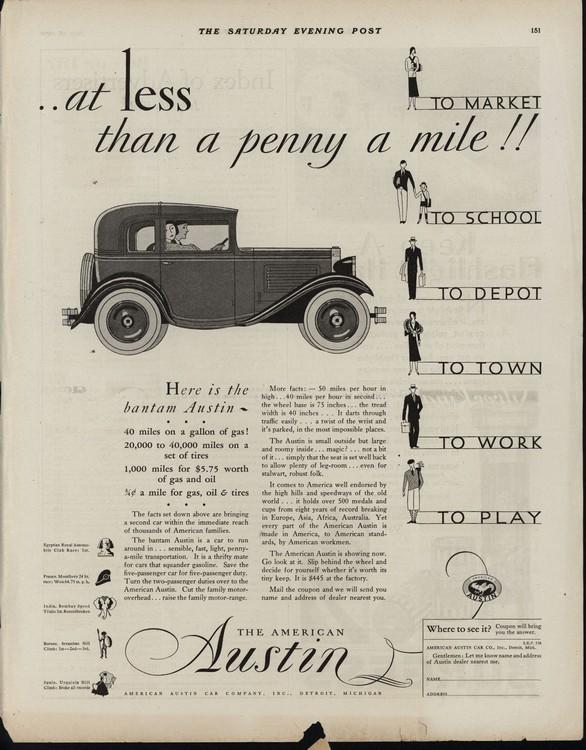 American Austin 1930 UL2 0001
