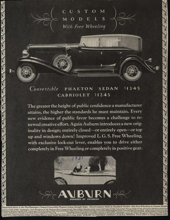 Auburn 1931 UL2 0002