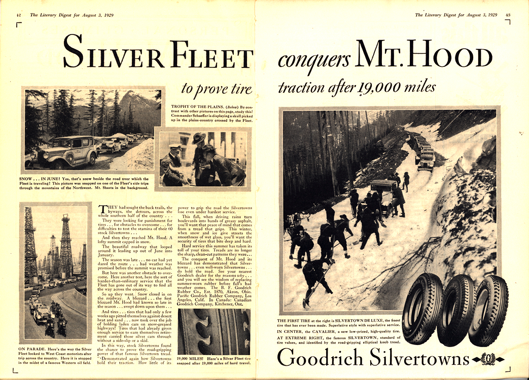 B. F. Goodrich Tires 1929 0002