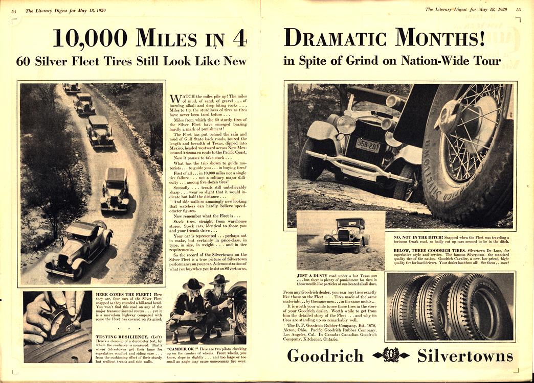 B. F. Goodrich Tires 1929 0003