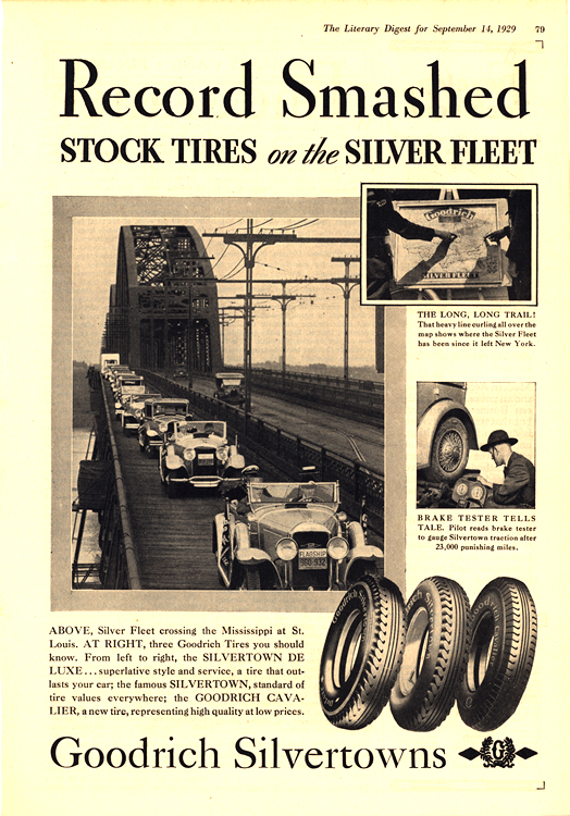B. F. Goodrich Tires 1929 0004