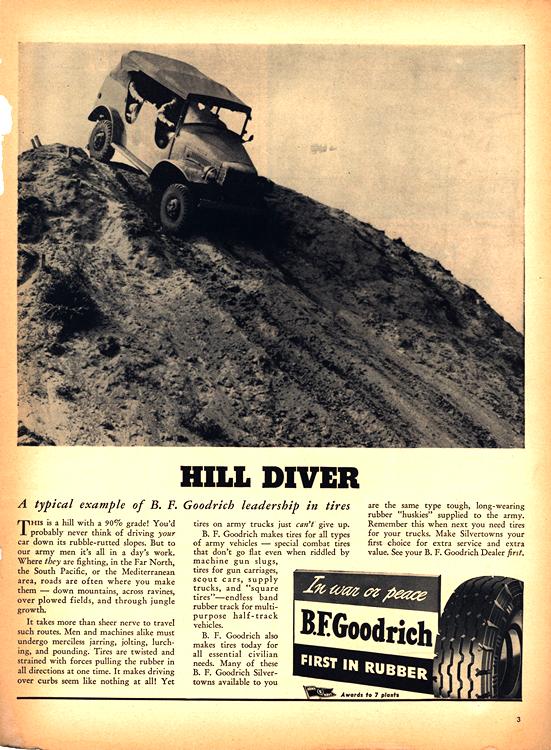 B. F. Goodrich Tires 1943 0001