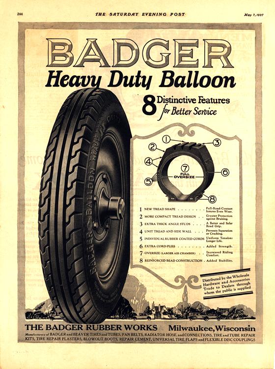 Badger Tires 1927 0001