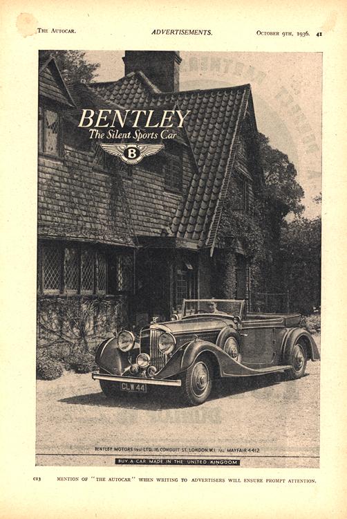 Bentley 1937 0001