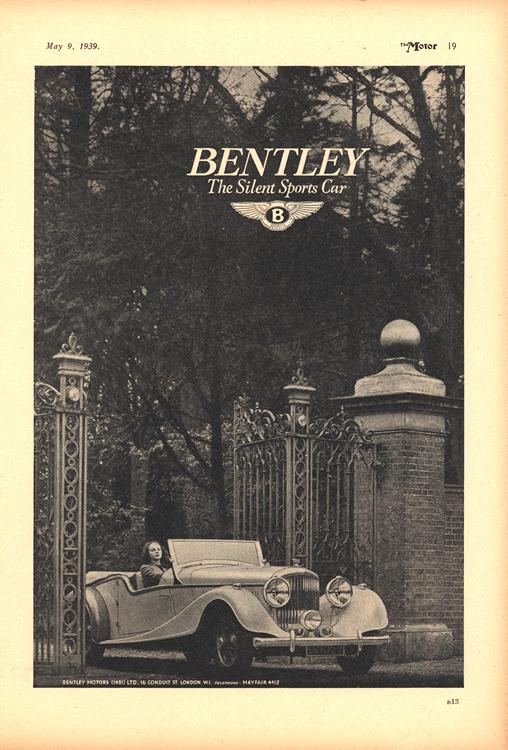 Bentley 1939 0001