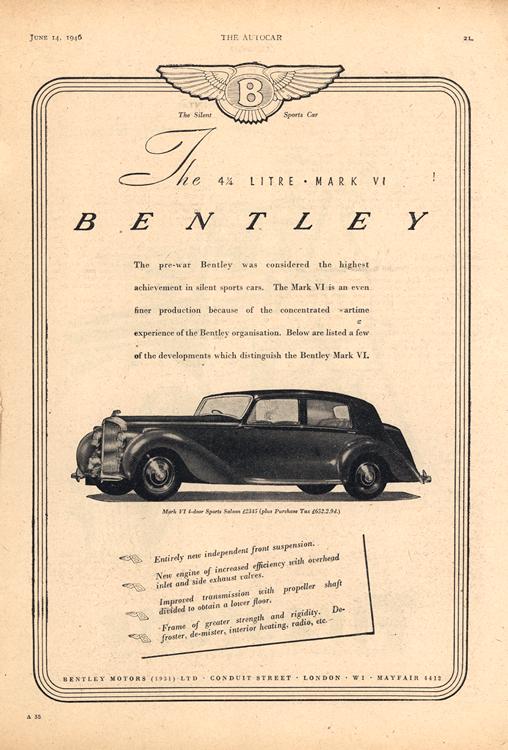 Bentley 1947 0001