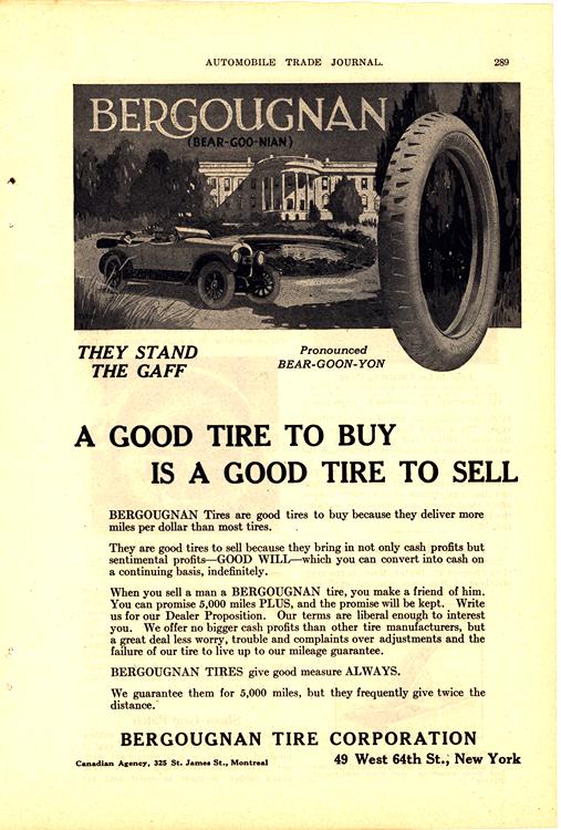 Bergougnan Tires 1919 0001