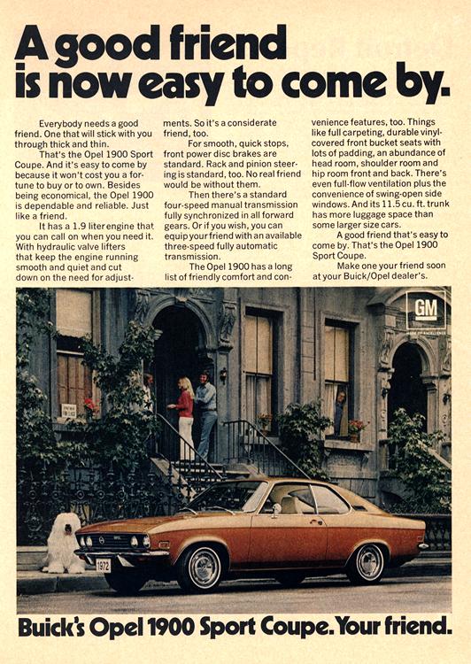 Buick 1972 Opel 0001
