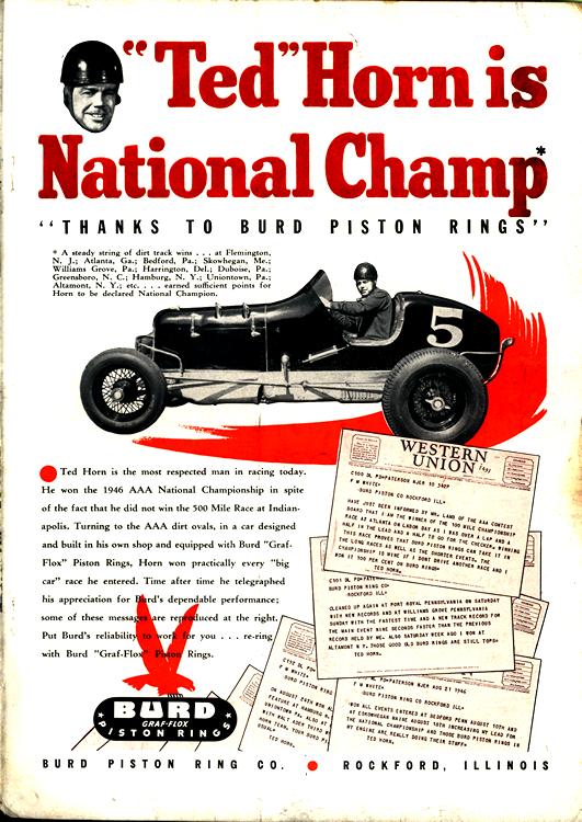 Burd Piston Rings 1946