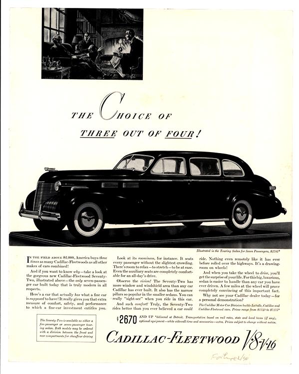 Cadillac 1940 0001