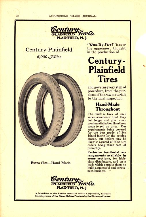 Century Plainfield Tires 1918 0002