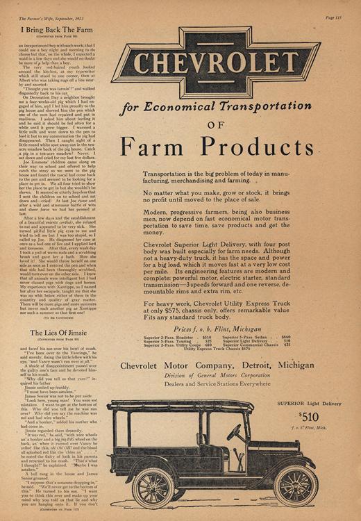 Chevrolet 1923 0010