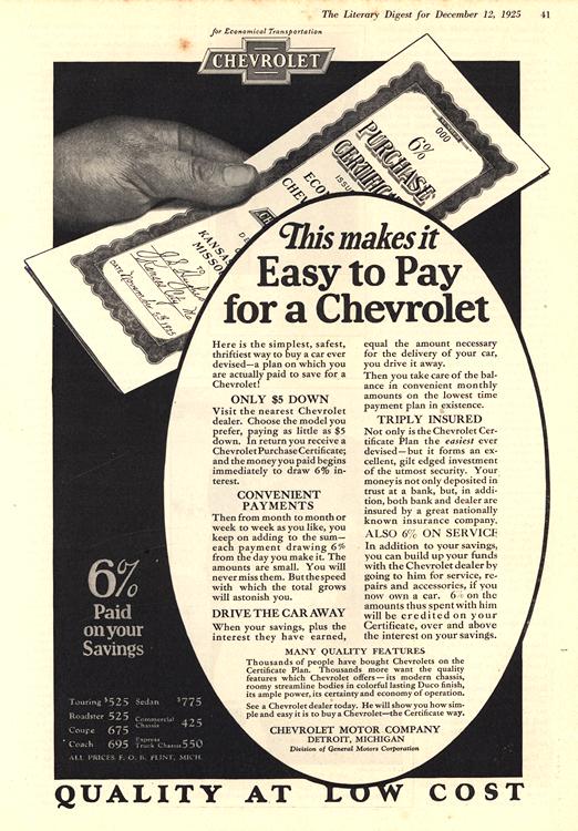 Chevrolet 1926 - 1925 0001