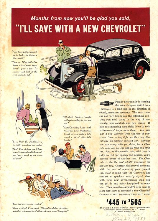 Chevrolet 1933 0009