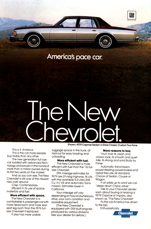 Chevrolet 1979 0001