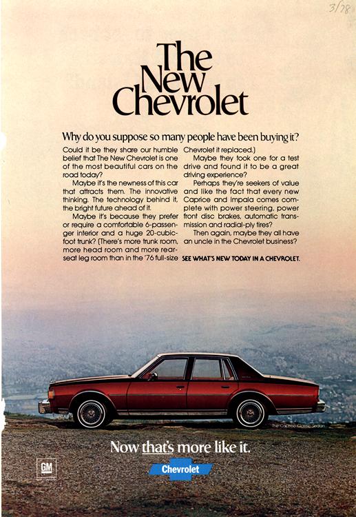 Chevrolet 1979 0002