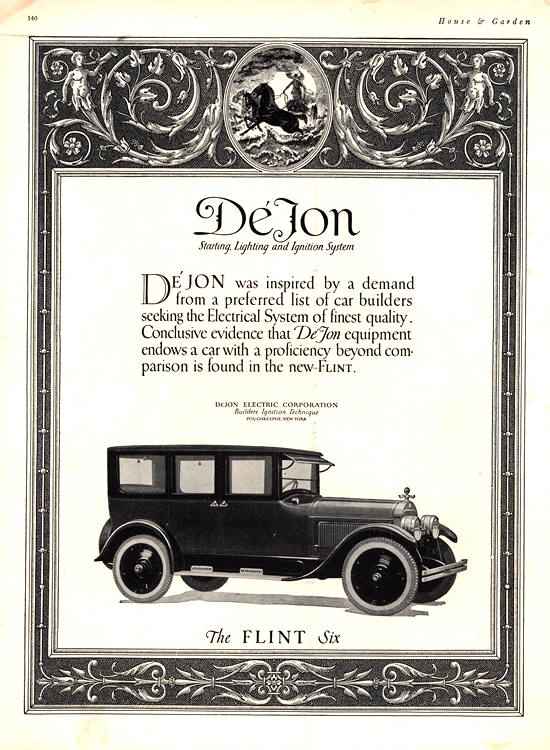 DeJon Electric 1924 Flint 0001
