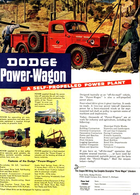 Dodge Truck 1947 0012