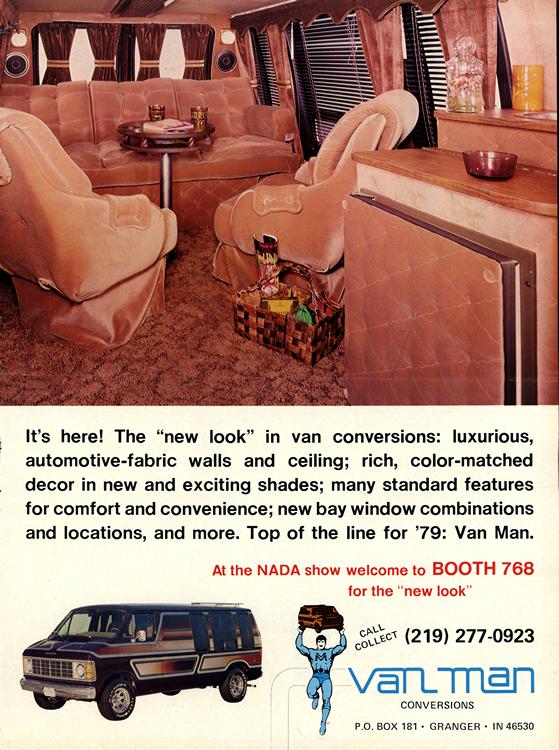 Dodge Truck 1979 Van Conversion 0003