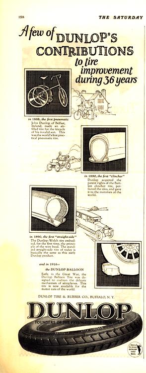 Dunlop Tires 1924 0001