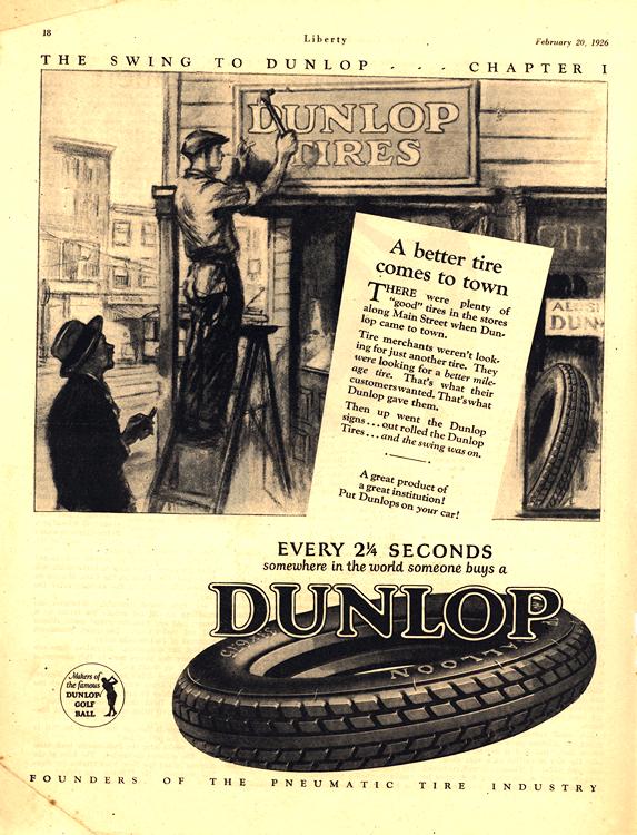 Dunlop Tires 1926 0002