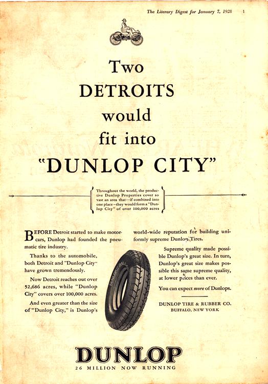 Dunlop Tires 1928 0003