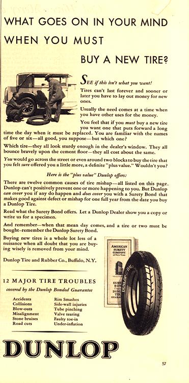 Dunlop Tires 1929 0002