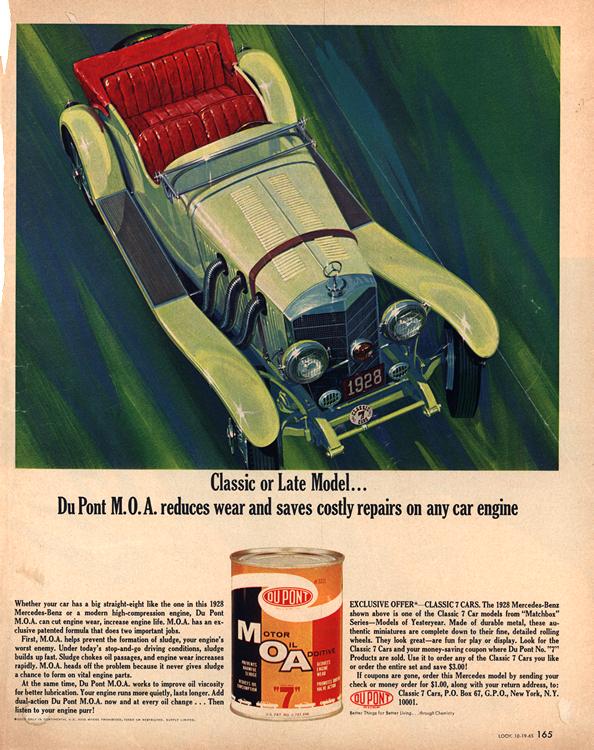 Dupont Motor Oil 1965 Mercedes-Benz 1928 0001