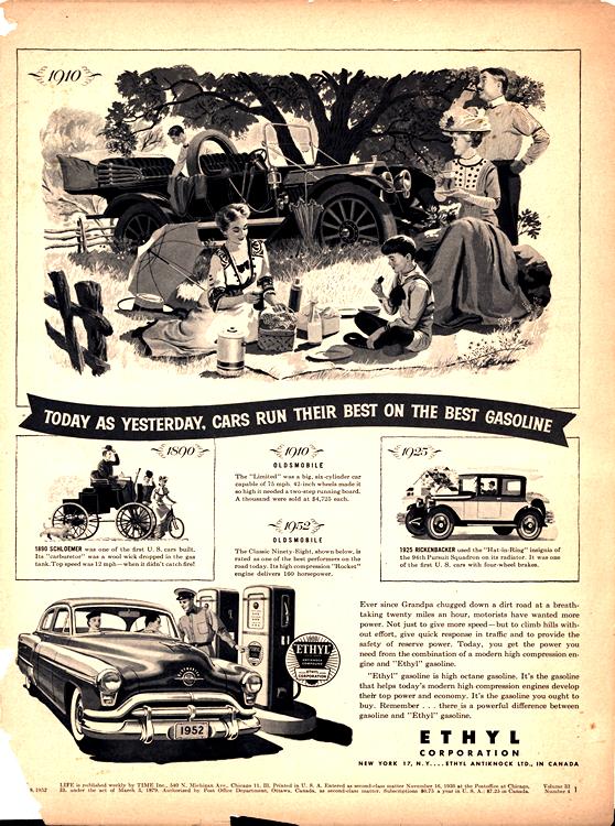 Ethyl Corporation Gas 1910 1952 0001