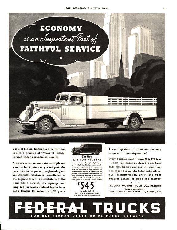 Federal Truck 1936 0001