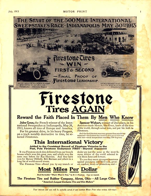 Firestone Tires 1913 0001