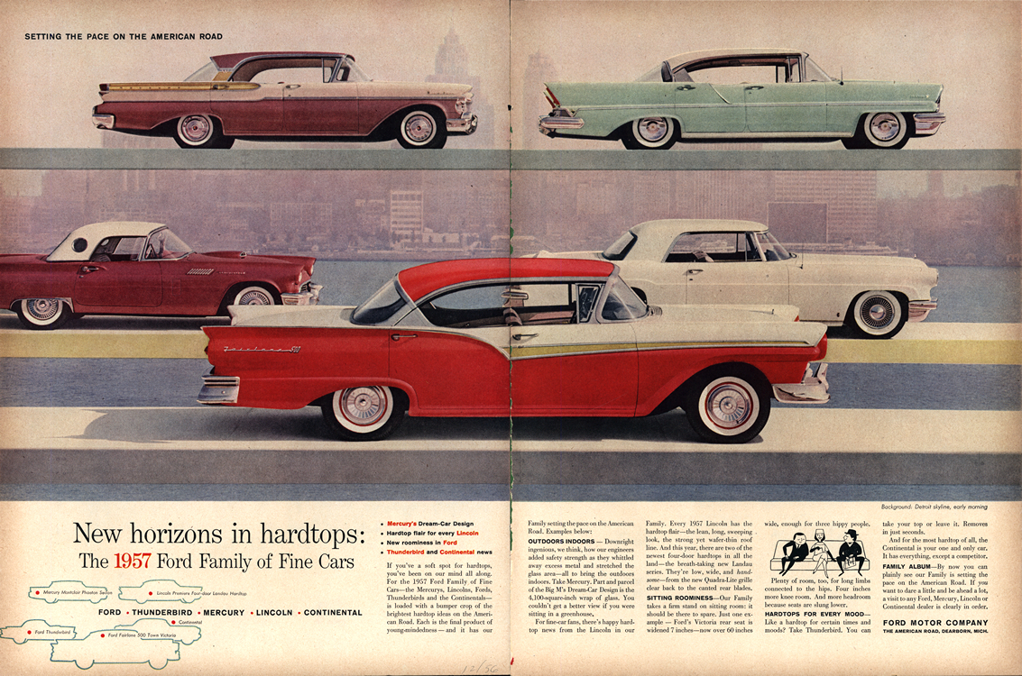 Ford 1957 Lincoln Mercury Continental Merge 0001
