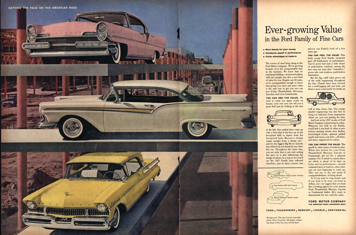 Ford 1957 Merge Lincoln Mercury 0001