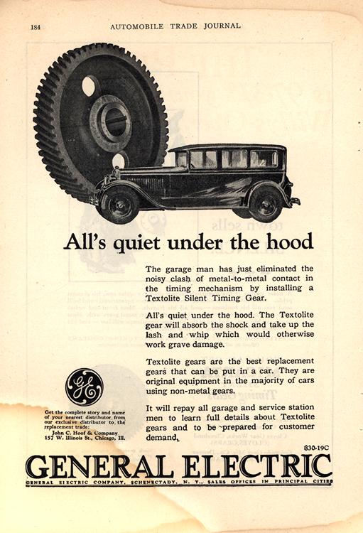 General Electric 1927 0001