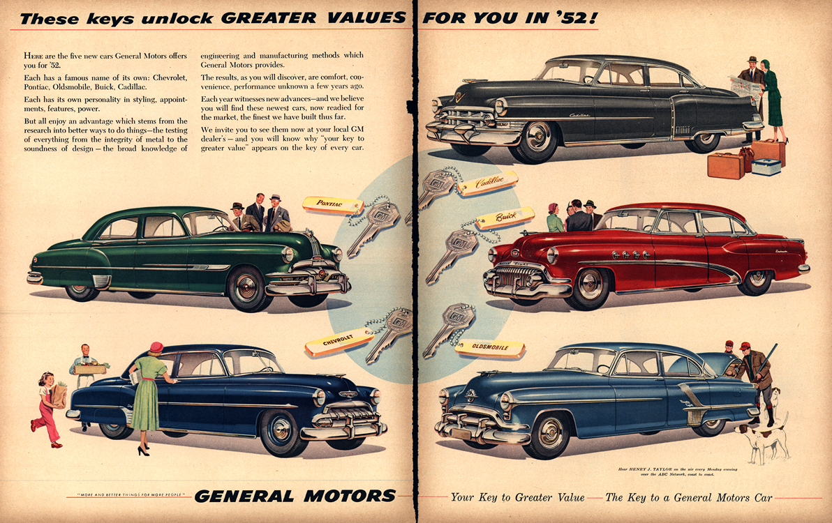 General Motors 1952 Merge 0001