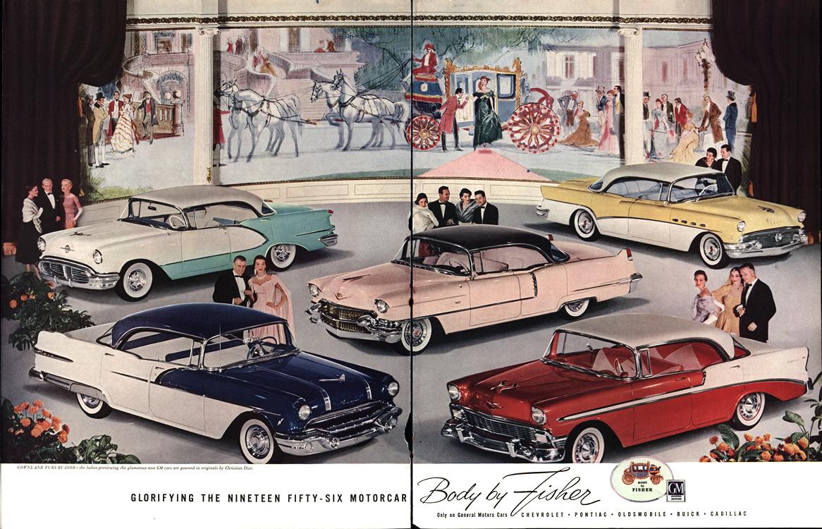 General Motors 1956 Merge 0001