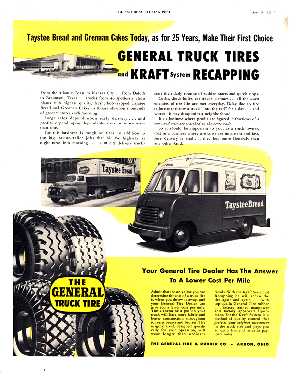 General Tires 1952 0001