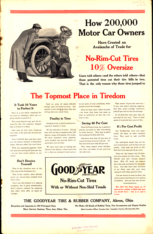 Goodyear Tires 1913 0002