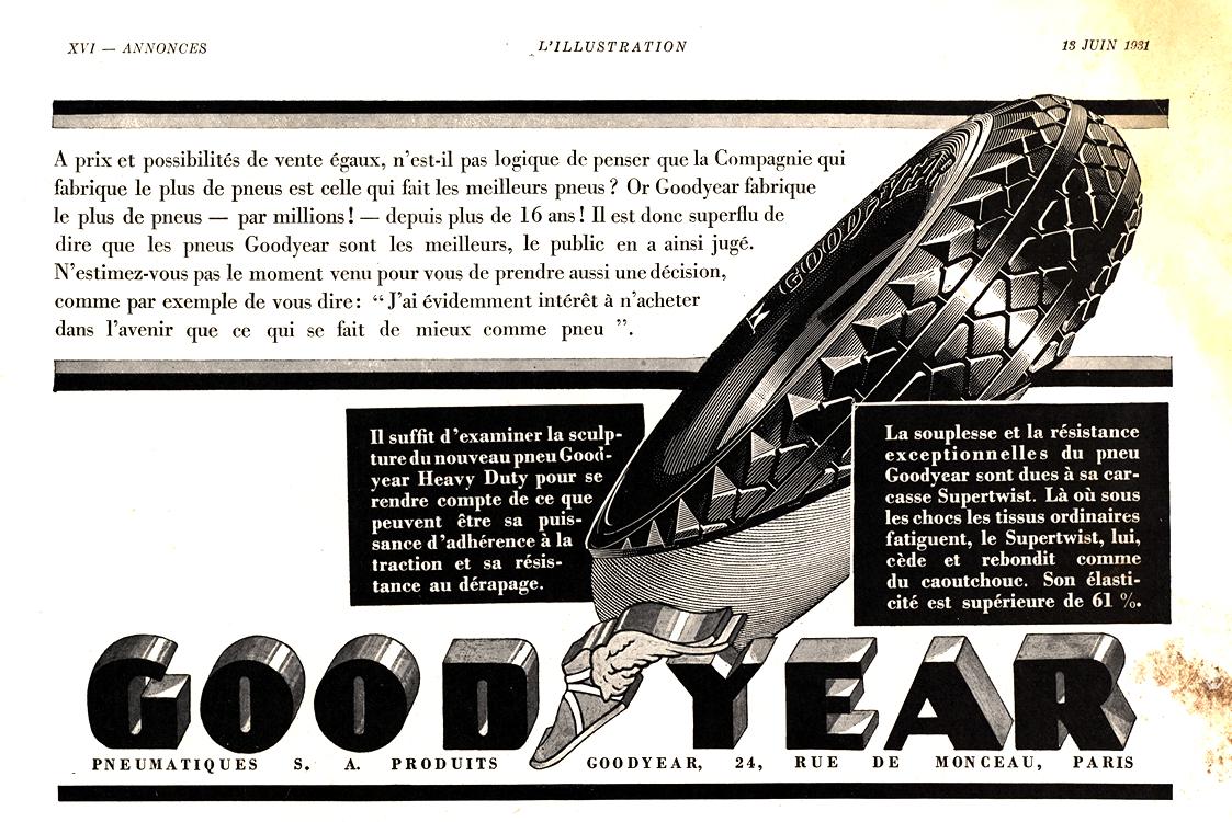 Goodyear Tires 1931 0001